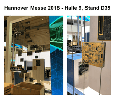 Hannover Messe 2018 Halle 9 Stand D35